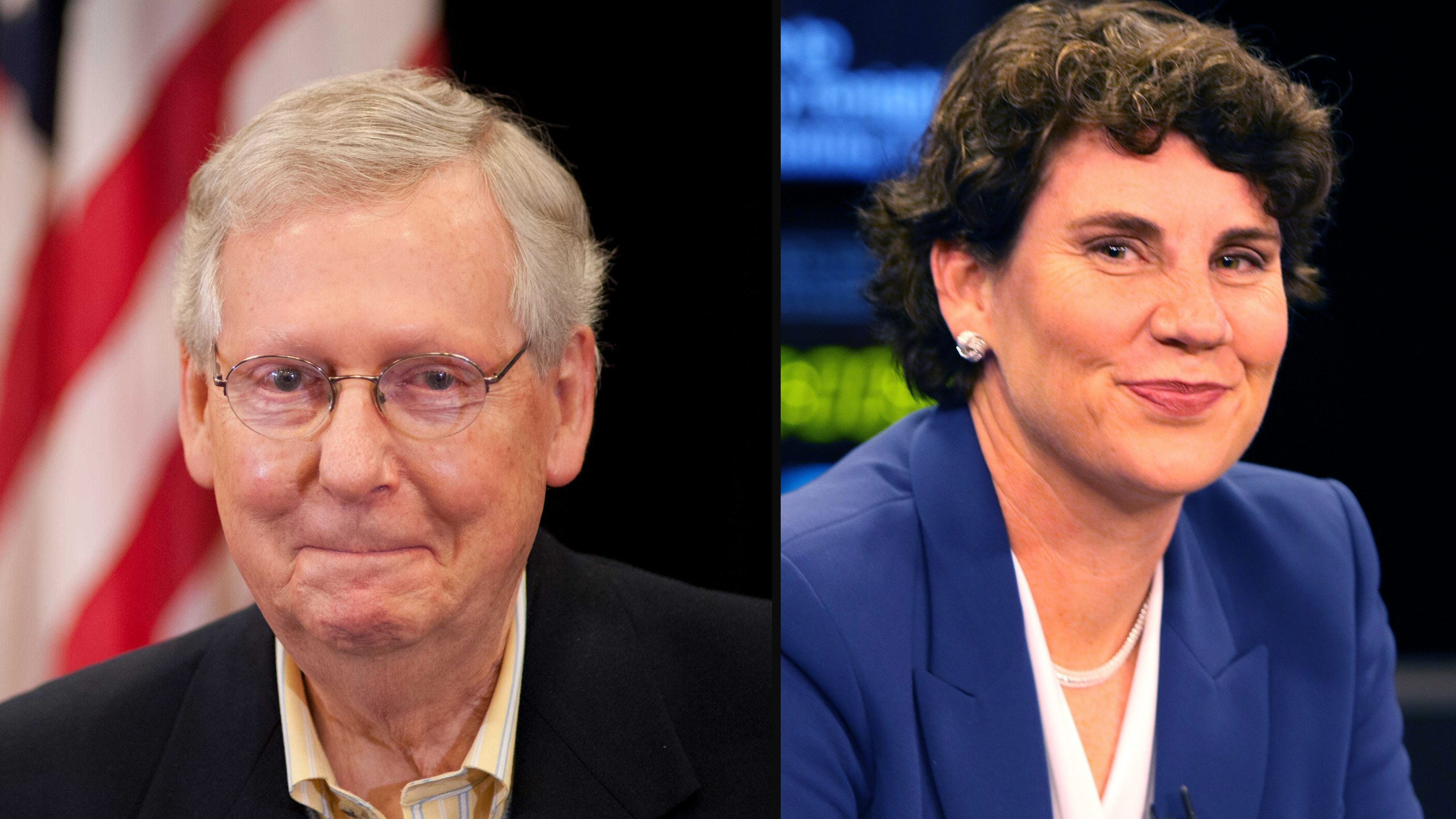 Coronavirus In Kentucky Mitch Mcconnell And Amy Mcgrath Play Politics