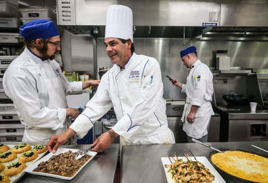 Sullivan University's G. Allen Akmon is a world-traveled chef whose teachings at Louisville's hospitality school has produced stars in the culinary world.