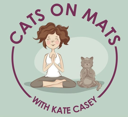 Cats on Mats logo