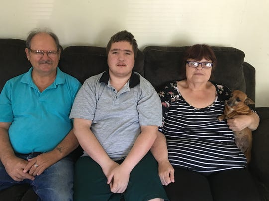 Norm and Carol Lewis are raising their grandson, Josh, 14, who has developmental delays, includingattention-deficit hyperactive disorder (ADH-D), autismand behavioral challenges. The couple is also raising his brother, Isaiah, 16. MCBDD currently serves 18 people being cared for by grandparents and Julie Cummins, director of service and support administration, said that number is increasing.