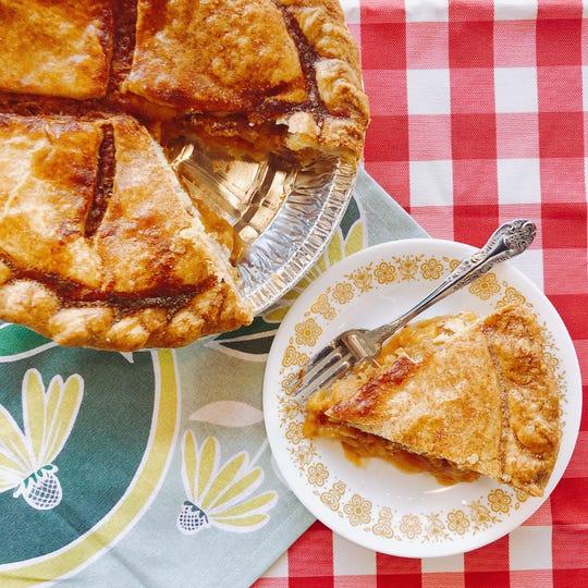 Peach pie from Muddy's Bake Shop.