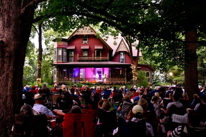 """A house in Oconomowoc has several concerts in the summer on the porch. The shows have attracted traveling musicians, including an """"American Idol"""" winner."""