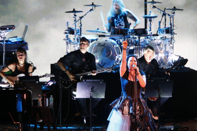 Amy Lee and her band Evanescence will perform during Rock Fest in Cadott July 18-20.
