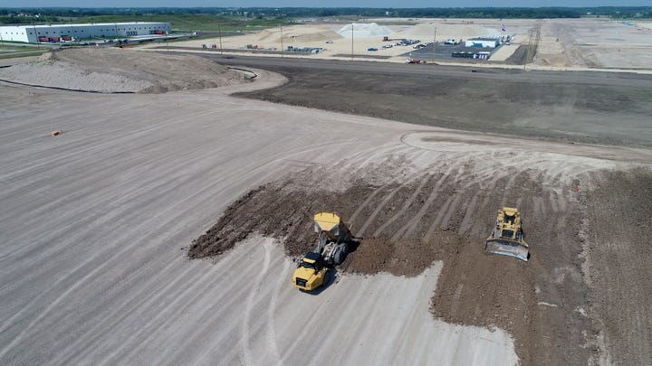 Check out this fresh drone footage of the Foxconn site