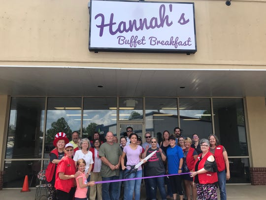 The Mountain Home Area Chamber of Commerce recently cut the ribbon for Hannah's Buffet Breakfast. Hannah's Breakfast Buffet offers great quality breakfast in a cozy family environment. Open Tuesday through Saturday from 6 a.m. to 2 p.m., visit them on Facebook @HannahsBuffetBreakfast or call (870) 424-4088. It is located at 1310 U.S. Highway 62 West #12 in the West Creek Center on the corner of U.S. Highway 62 and Bomber Blvd.