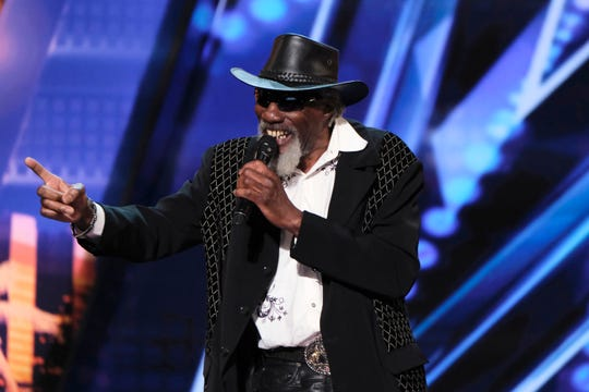 "Robert Finley appears on the ""Auditions 6"" episode of ""America's Got Talent"" that aired July 9, 2019."