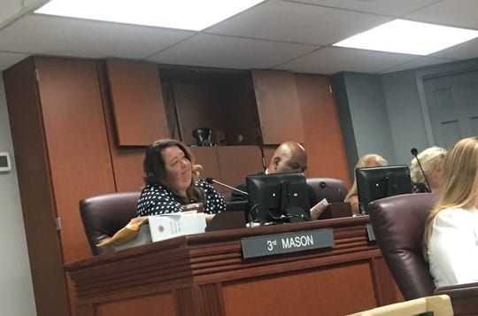 County Commissioner Jennifer Mason, 3rd District, supported dividing the state's allocation of $4.2 million between the school district and taxpayers. However, a motion to do so failed during the Williamson County Commission meeting Monday.