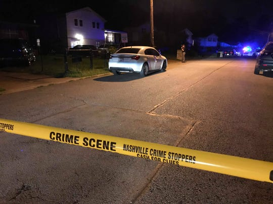 Police responded to a shooting on Ewingwood Drive Monday night.