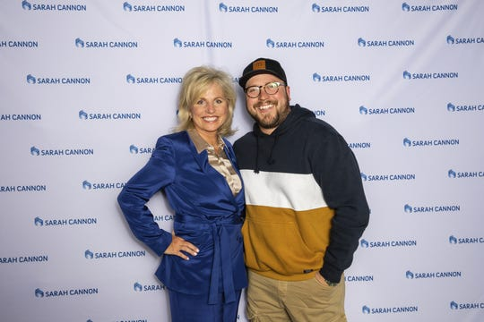 Dee Anna Smith, CEO of Sarah Cannon, and country singer Mitchell Tenpenny