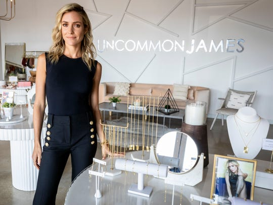Kristin Cavallari is photographed in her Nashville store Uncommon James Monday, July 8, 2019.