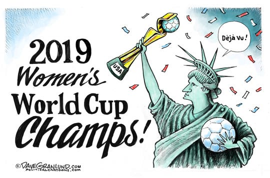 Women's World Cup champs.
