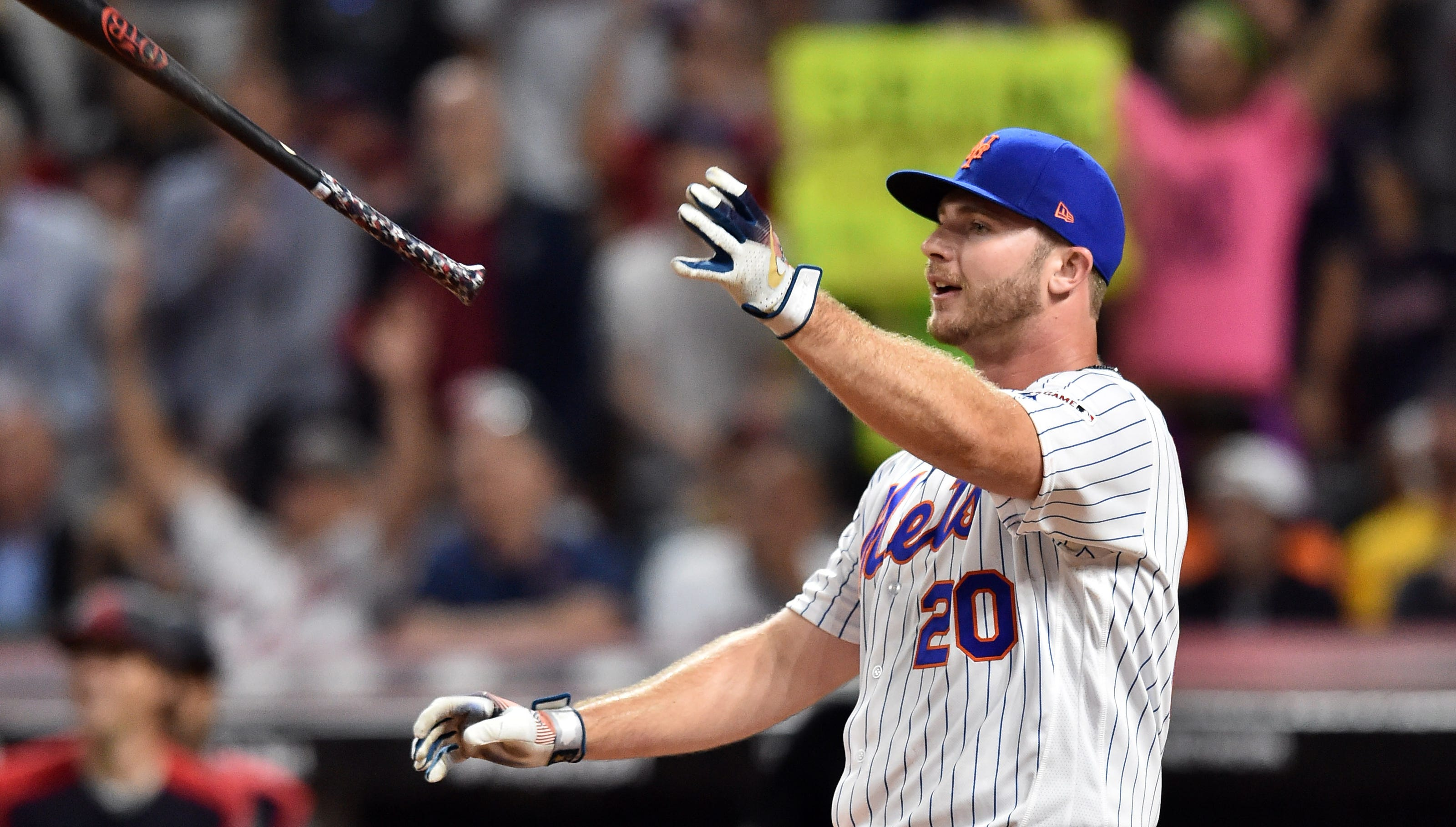 Pete Alonso in Home Run Derby 2021, NY Mets star defending title