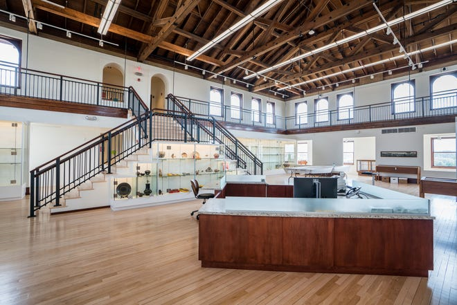 The interior of Western New Mexico University Museum, which will hold its 45th Anniversary Black-on-White Gala on Saturday, July 13, 2019.