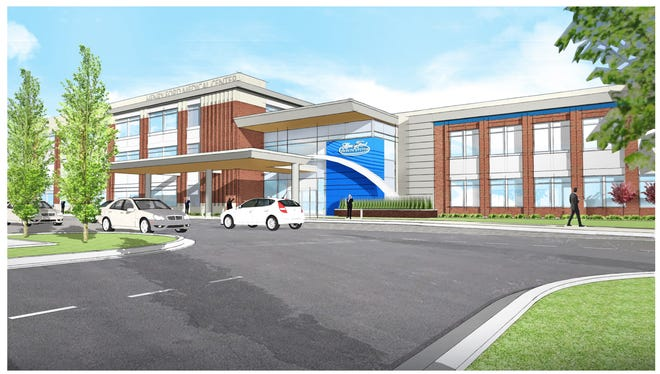 A 120,000 square-foot medical facility is planned for the former Kmart site on Ann Arbor Road in Plymouth Township.