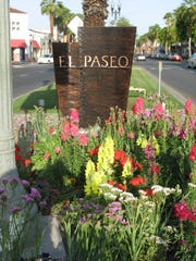 El Paseo. Palm Desert's high-end shopping district.