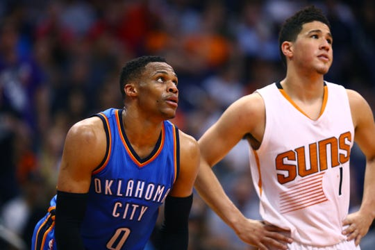 How would Russell Westbrook and Devin Booker fare as teammates with the Phoenix Suns?