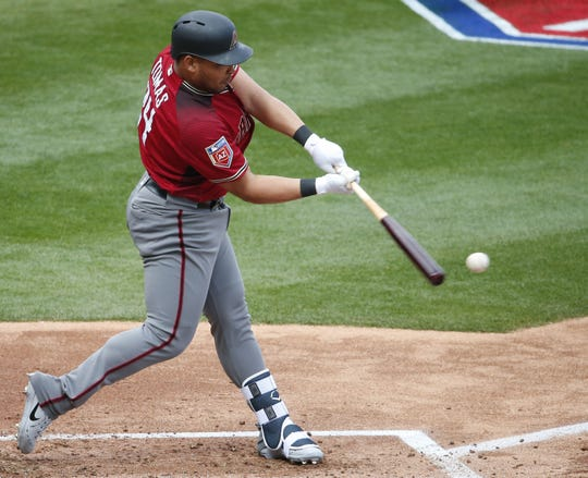 Yasmany Tomas is crushing the ball in Reno this season. He won the Triple-A Home Run Derby Monday night.