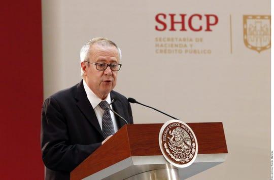 Carlos Urzúa renunció este martes a la titularidad de la Secretaría de Hacienda y Crédito Público.