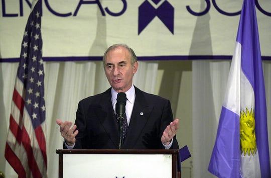 Fernando de la Rúa, ex presidente de Argentina.