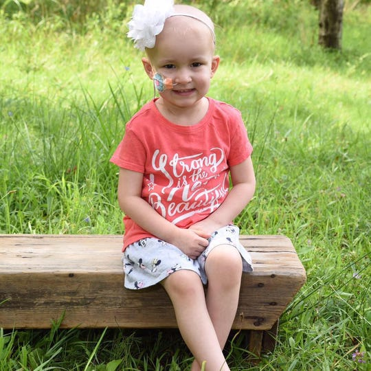 Allyson Musser was diagnosed with stage 4 neuroblastoma in March 2018.