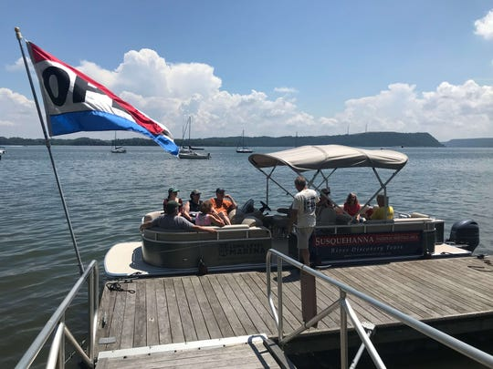 The Susquehanna National Heritage Area will launch its pilot season of River Discovery Boat Tours this weekend, which offers three free pontoon boat tours every Saturday and Sunday throughout the summer.
