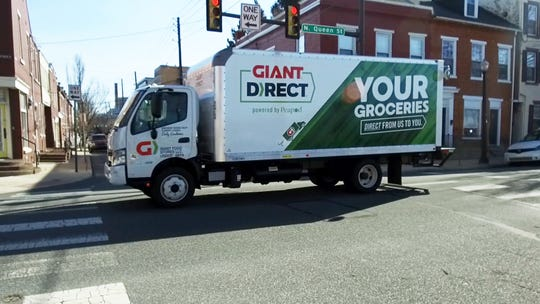 Peapod delivers Giant Food Stores groceries to homes in central Pennsylvania.
