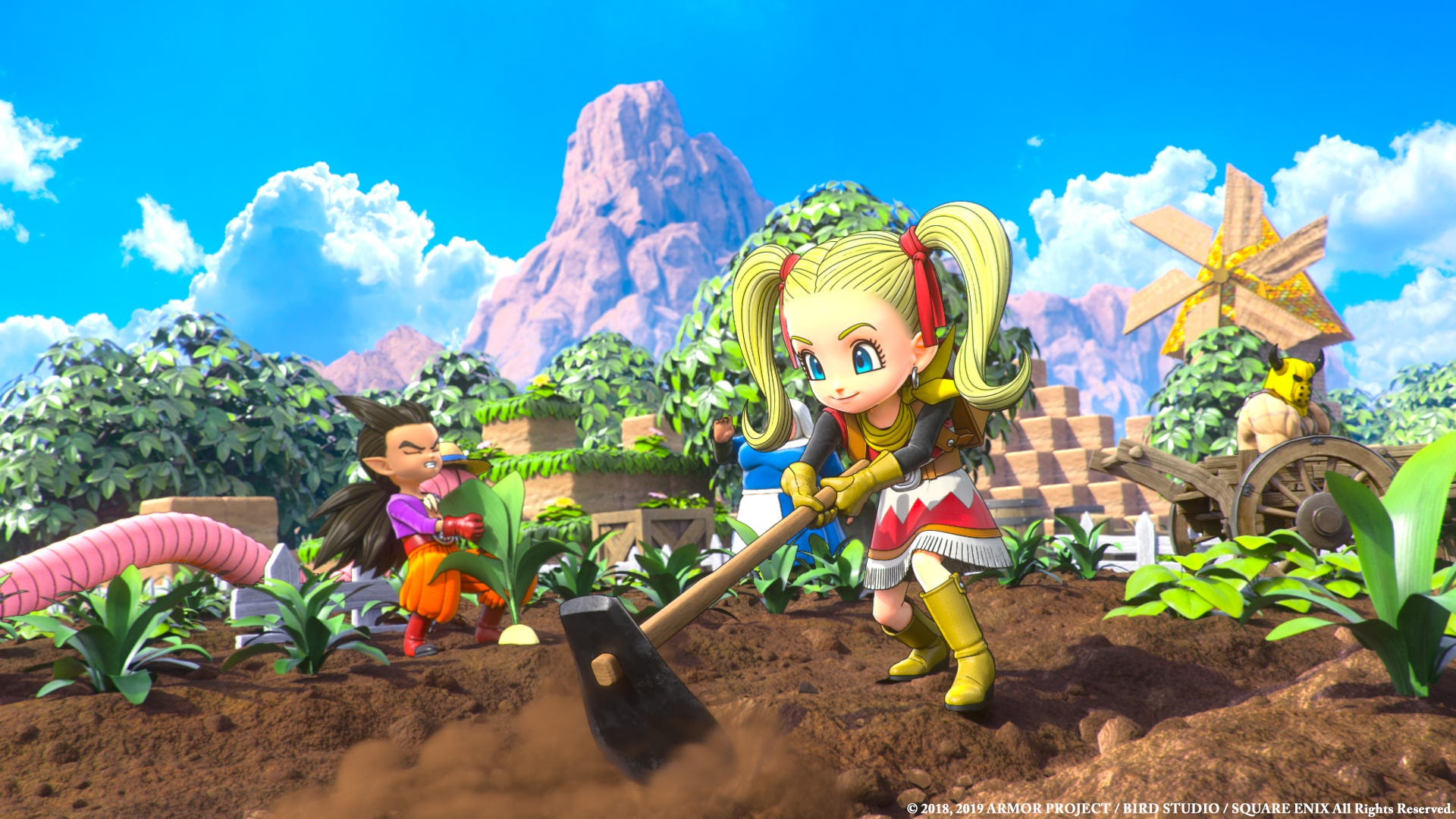 Video: Dragon Quest Builders 2 shows off online multiplayer mode    Technobubble
