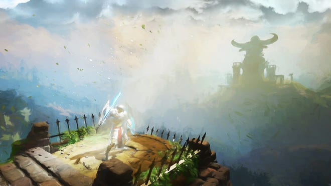 SolSeraph is an ActRaiser homage for PC, PS4, Switch and Xbox One.