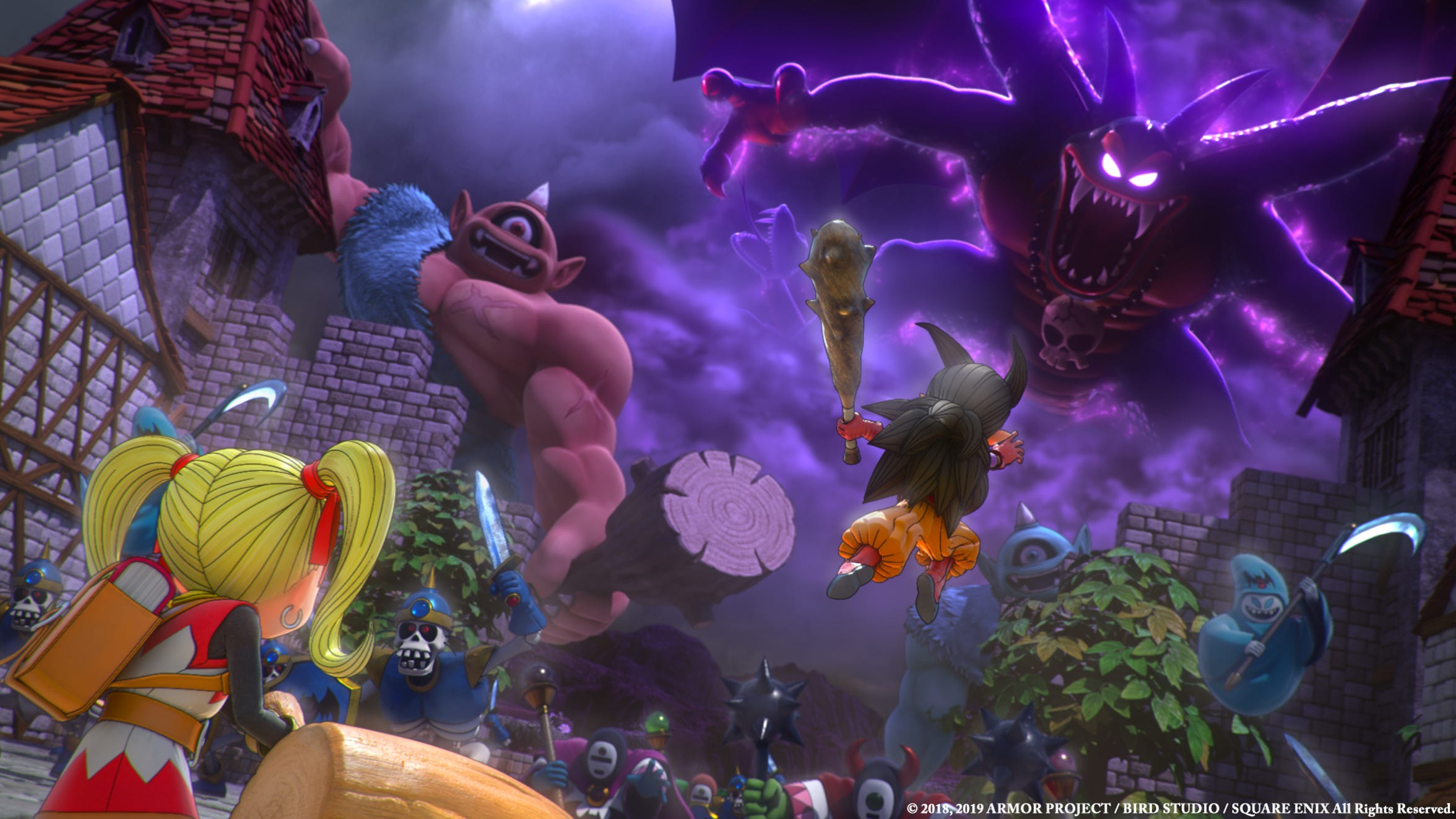 Dragon Quest Builders 2 for the PS4 and Nintendo Switch.
