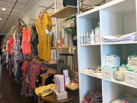Along with apparel, shoes and jewelry, customers can also find accessories including mugs, books, soaps, hand bags and more.