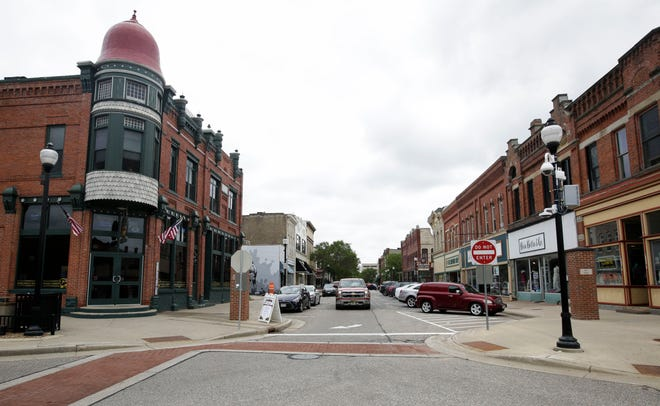 Downtown Stevens Point, as seen on Friday, July 5, 2019.