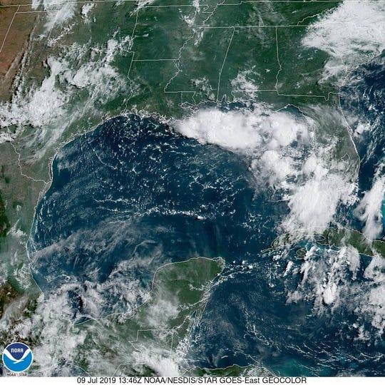 NOAA satellite imagery
