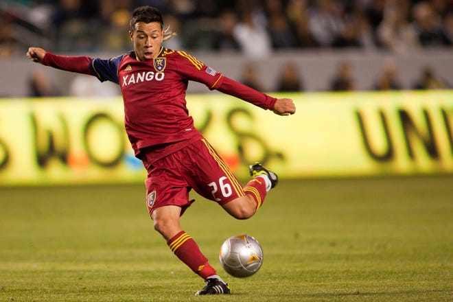 Attacking midfielder Sebastián Velásquez played three seasons with Real Salt Lake in the MLS, scoring twice