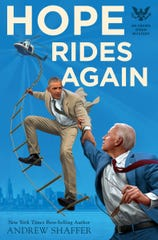 """Hope Rides Again"" author Andrew Shaffer will host a book signing and discussion at Hockessin's Drip Café on Friday."