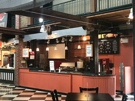 A bagel kiosk will be replacing Effoc's coffee at the Wilmington Riverfront Market.