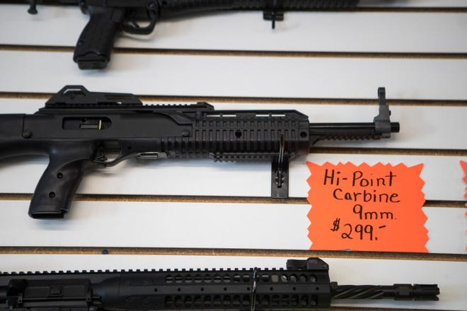 "Washington Gov. Jay Inslee and Attorney General Bob Ferguson want to ban the sale of ""assault weapons,"" which are defined as semi-automatic guns that contain at least one military-style feature."