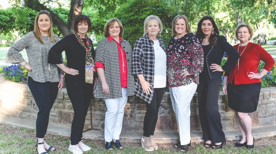 These women are members of a new nonprofit, Impact 100 Wichita Falls. The group seeks to bring women together to improve the Wichita Falls community.