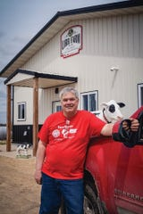 """Robert Nigh, who has been farming since he was young, says """"Farming is what I know and what I love."""""""