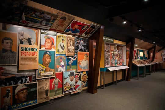 The National Baseball Hall of Fame and Museum's exhibition explores baseball cards as a hobby, a multi-million-dollar industry, and another American pastime with staying power.
