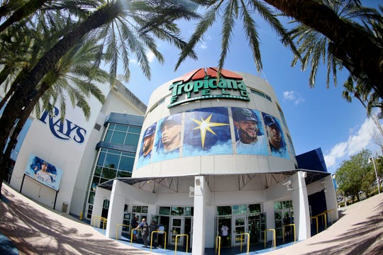 Tropicana Field has been the Rays' home since the club's inception in 1998.