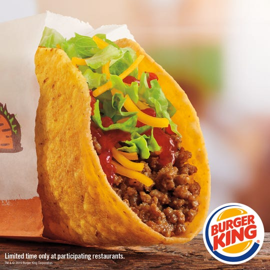 For a limited time, Burger King is selling tacos.