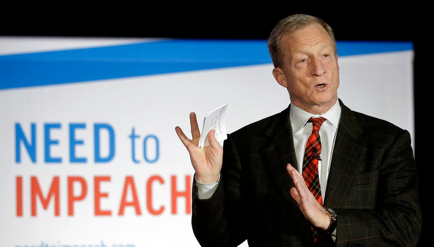 Tom Steyer reaches donor threshold for September debates
