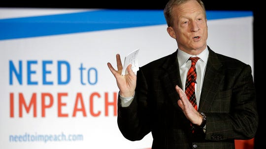 Billionaire and activist Tom Steyer announces run for president