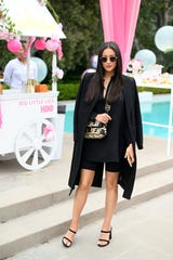 Shay Mitchell shares a video of her swollen feet to Instagram.