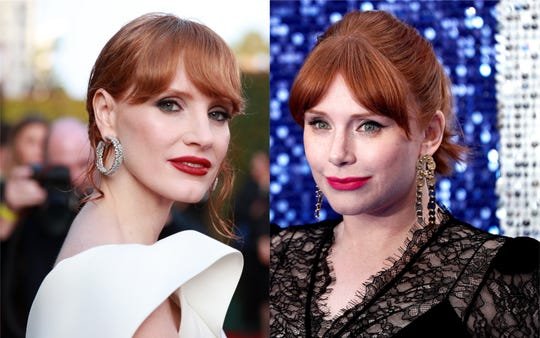 Jessica Chastain (left) and Bryce Dallas Howard.