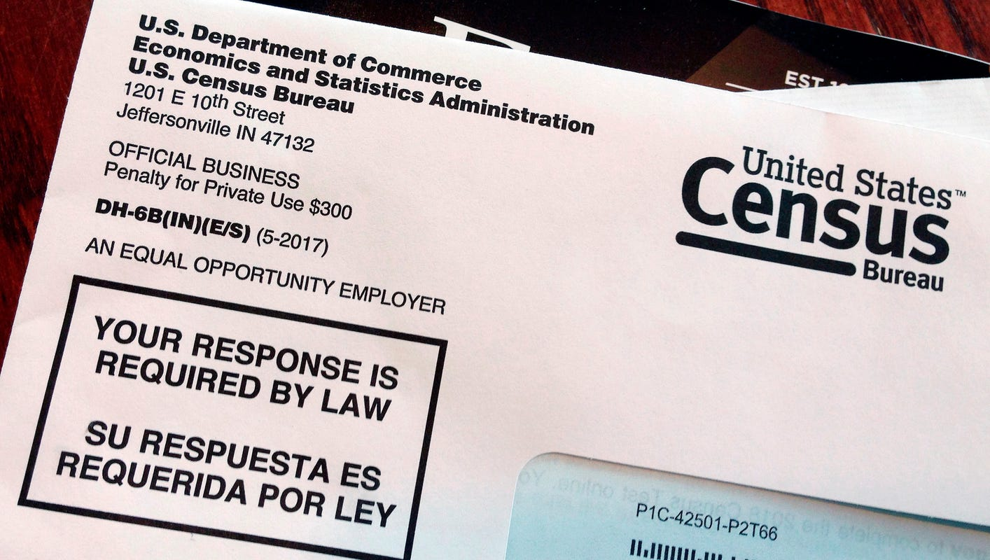 The 2020 census: Residents will be able to respond online or by phone