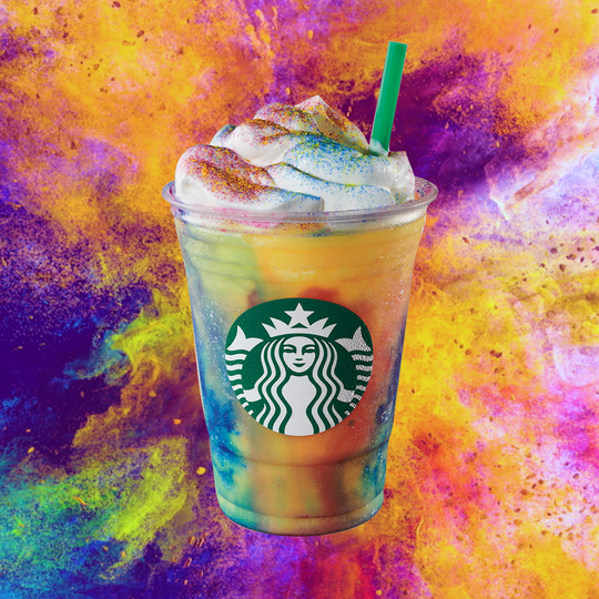 Starbucks' new Tie Dye Frappuccino is only available until July 15