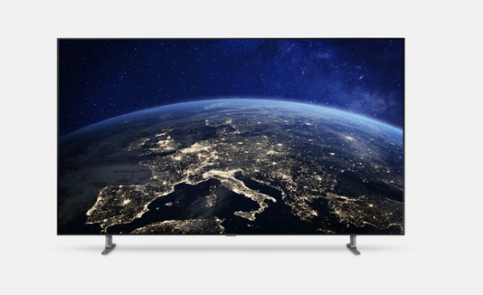 A great home theater setup starts with an incredible TV, like the Samsung Q80R.