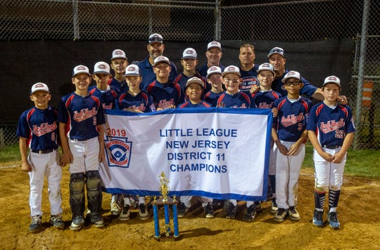 North Howell defeats Ocean in District 11 Little League Championship game in Howell, NJ on July 9, 2019.