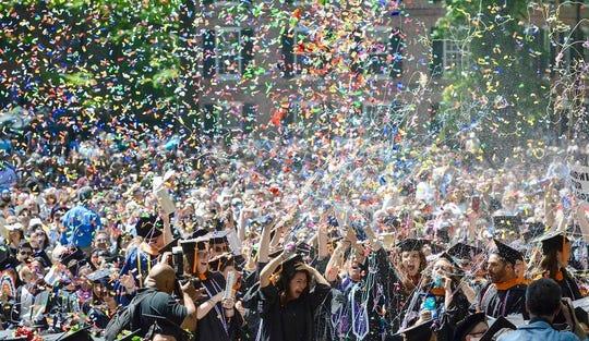 Someone in this celebration of 2019 Yale graduates is former Abilenian McKenzie Fergus.